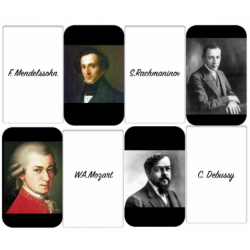 Composers' memory game