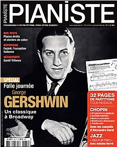 Pianiste Magazine Gershwin, Compositions musicales Valérie Sabbah
